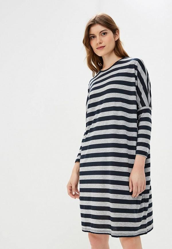 Купить Платье LC Waikiki, mp002xw1goa9, синий, Весна-лето 2018