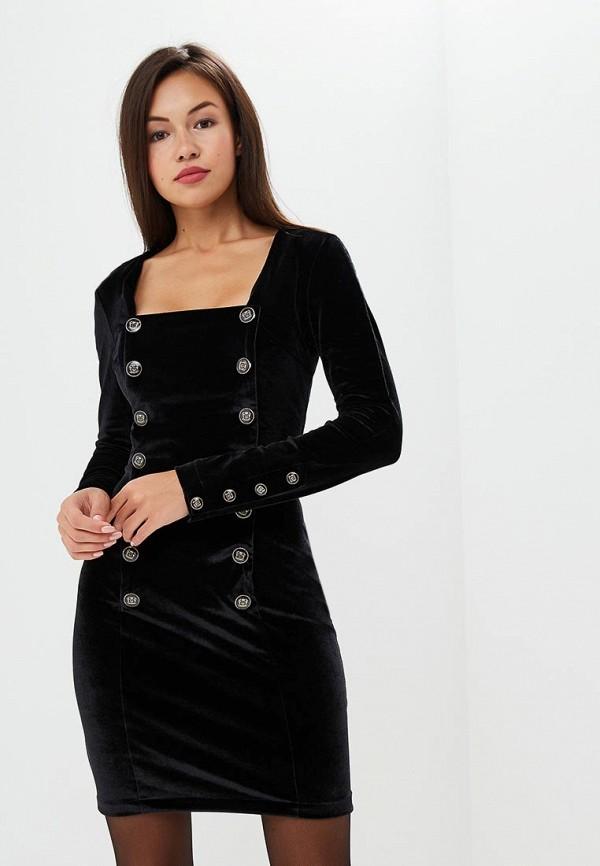 Фото - Женское платье Gorchica черного цвета