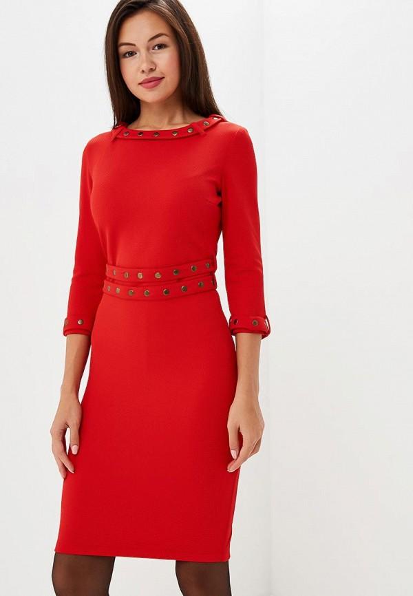 Фото - Женское платье Gorchica красного цвета