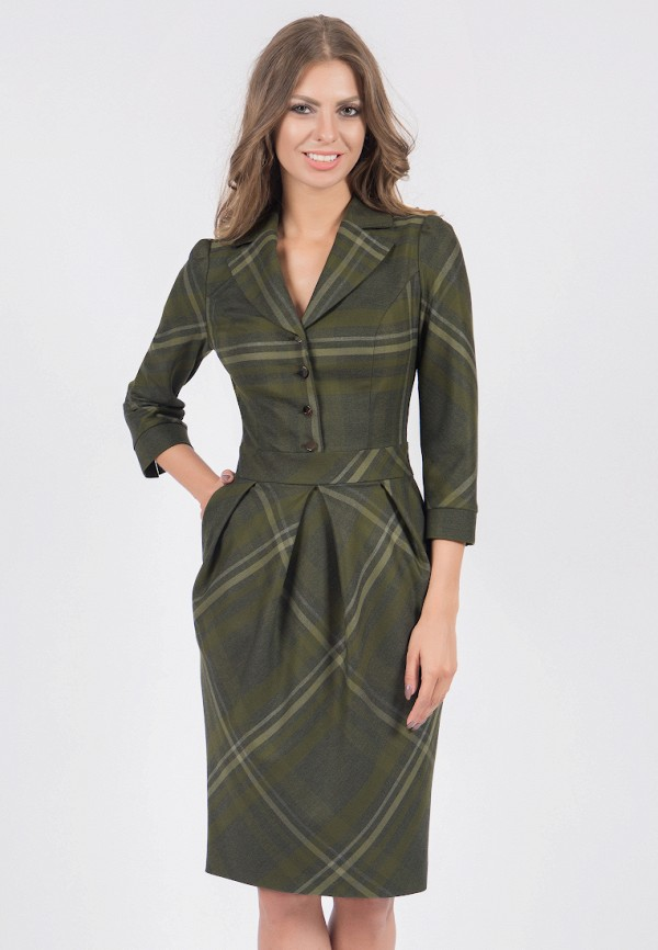 женское платье olivegrey, зеленое