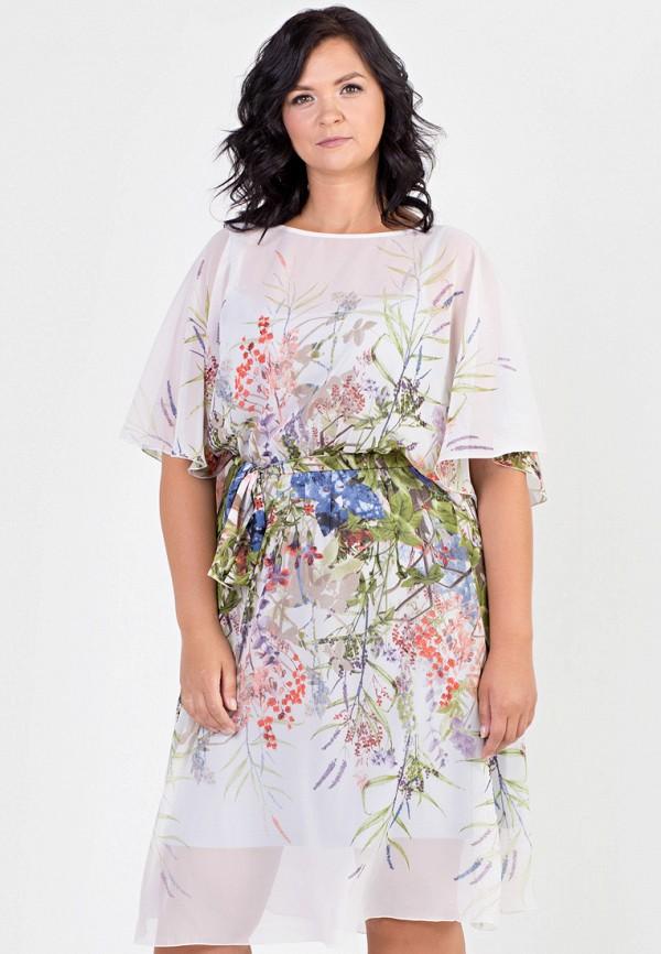 Фото - Женское платье Filigrana серого цвета