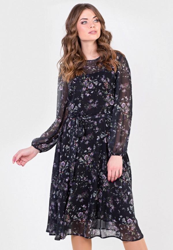 Фото - Женское платье Filigrana черного цвета