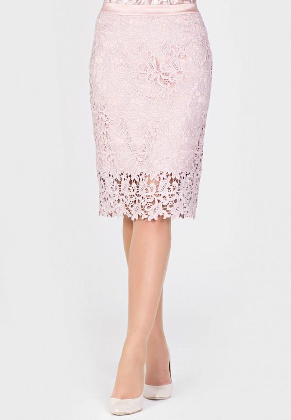 Фото - Женскую юбку Filigrana розового цвета