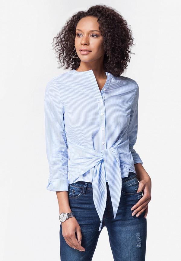 Купить Блуза Vilatte, mp002xw1gomn, голубой, Осень-зима 2018/2019