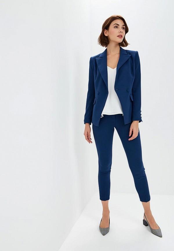 женский костюм self made, синий