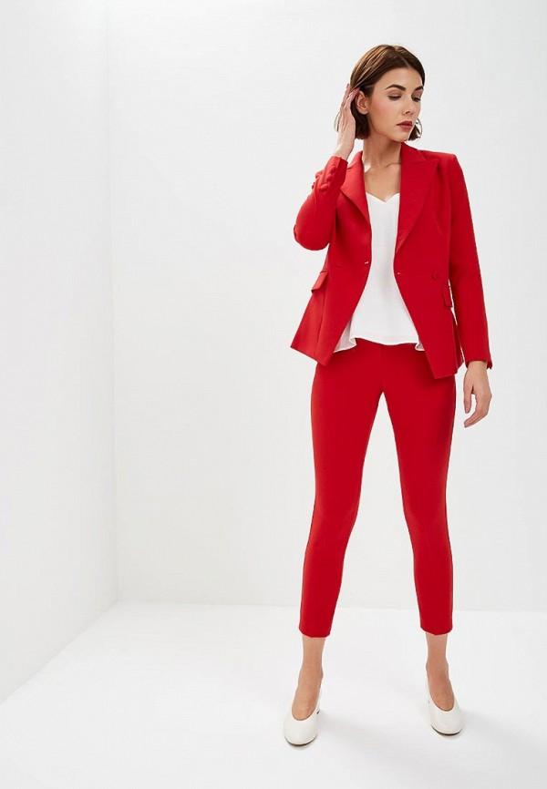 женский костюм self made, красный