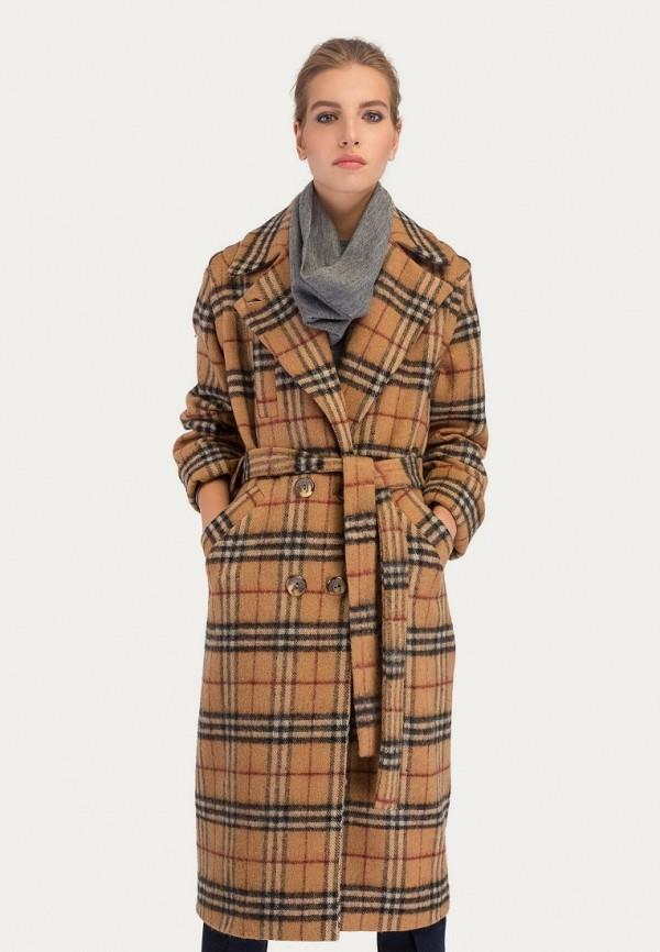 Купить Пальто Stimage, mp002xw1goub, бежевый, Осень-зима 2018/2019