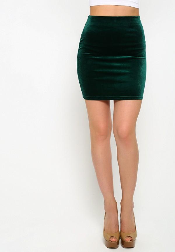 женская зауженные юбка malaeva, зеленая