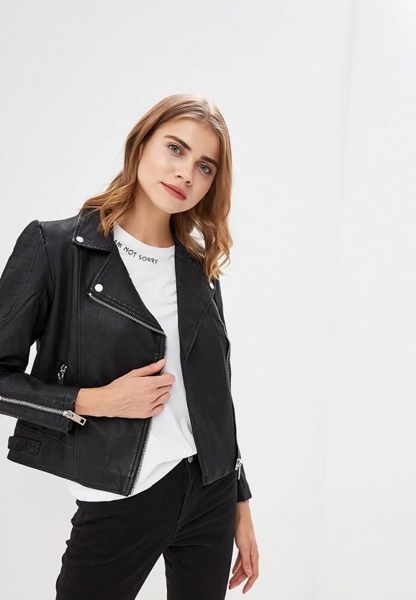Куртка кожаная Top Secret Top Secret MP002XW1GP2A black choker sleeveless crop top