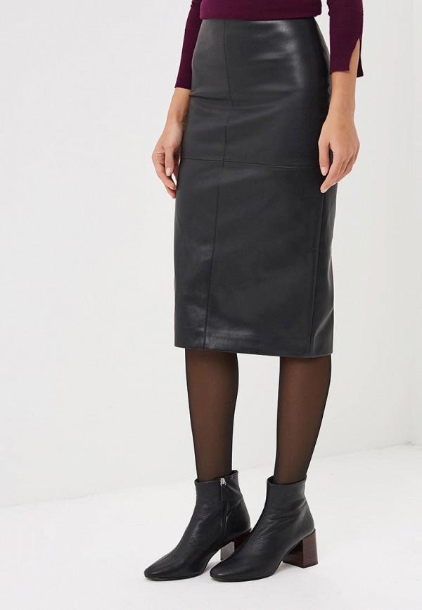 женская юбка unna, черная