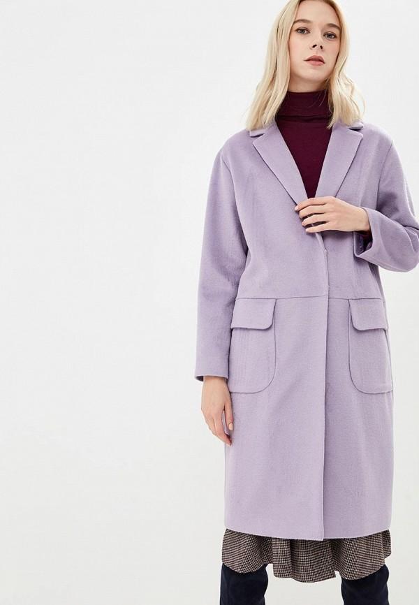 Купить Пальто Brassorti, mp002xw1gplb, фиолетовый, Осень-зима 2018/2019