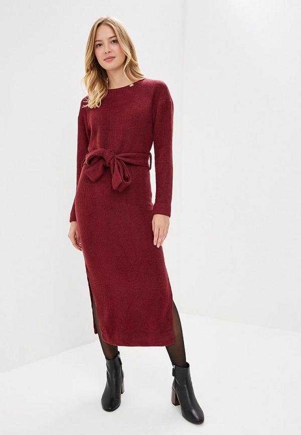 женское платье bezko, бордовое