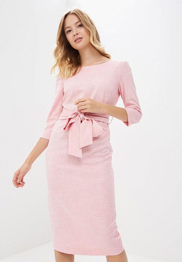 женское повседневные платье bezko, розовое