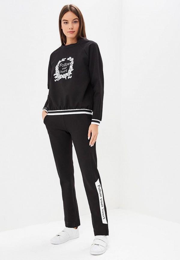женский спортивные спортивный костюм bezko, черный