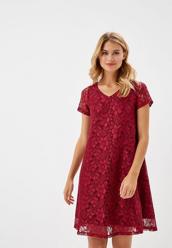 Купить Платье Alina Assi, MP002XW1GQ1L, бордовый, Осень-зима 2018/2019