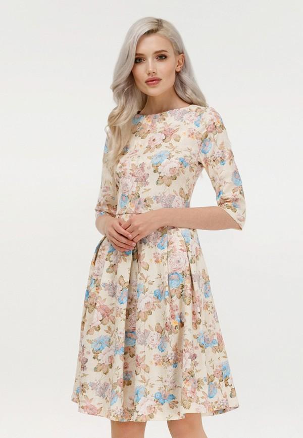 Купить Платье Masha Mart, MARIYA DR, MP002XW1GQ9B, бежевый, Осень-зима 2018/2019