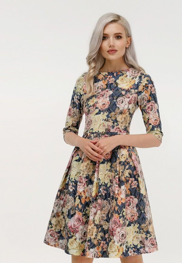 Купить Платье Masha Mart, MARIYA DR, MP002XW1GQ9C, синий, Осень-зима 2018/2019