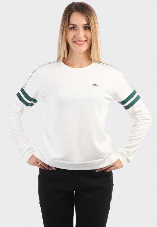 Купить Свитшот Anta, Sport Style, mp002xw1gqc8, белый, Осень-зима 2018/2019