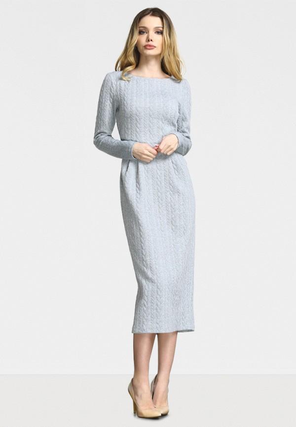 женское повседневные платье zerkala, серое