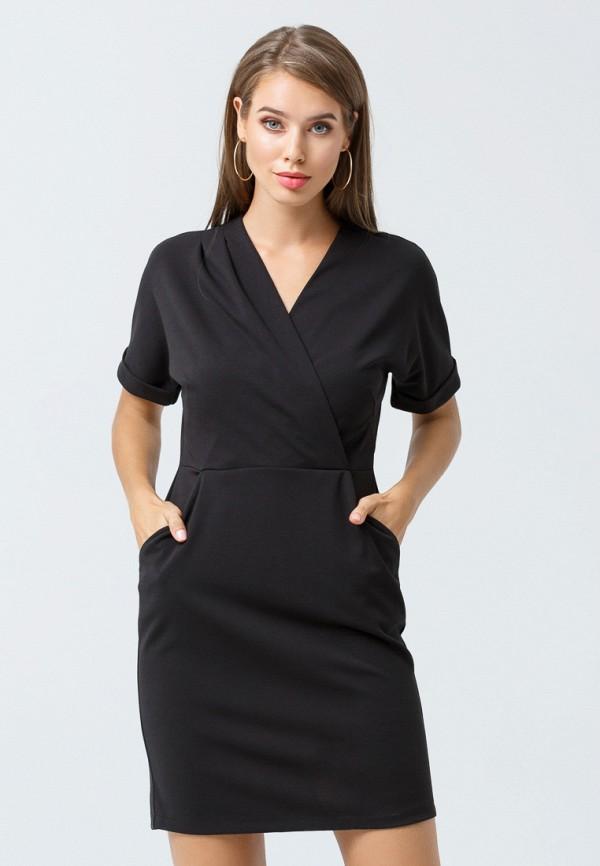 женское платье oks by oksana demchenko, черное