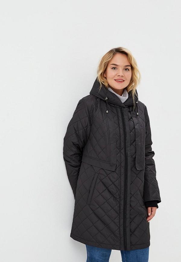 Куртка утепленная Wiko, Куртка женская Дора, MP002XW1GQI4, черный, Осень-зима 2018/2019  - купить со скидкой