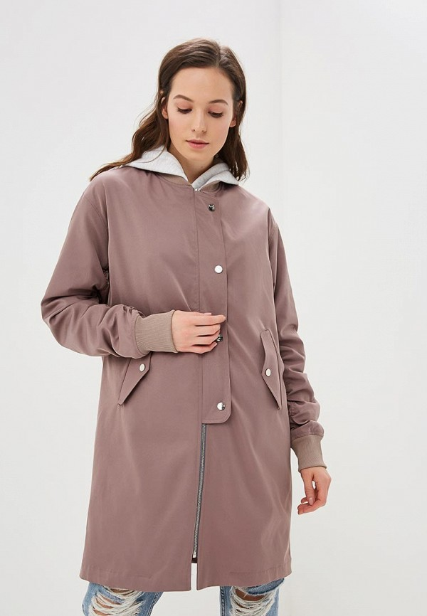женская куртка isyw i sew you wear, бежевая