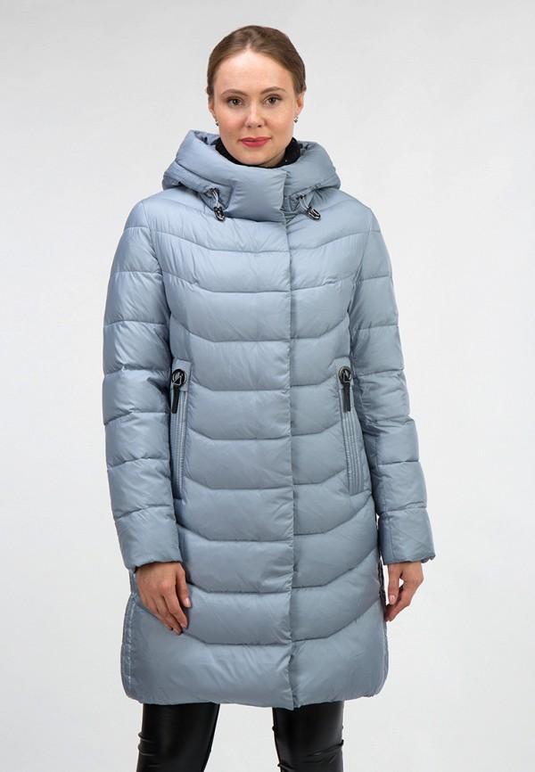 женская куртка ostrich, голубая