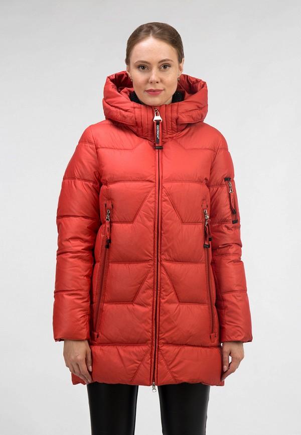 женская куртка ostrich, оранжевая