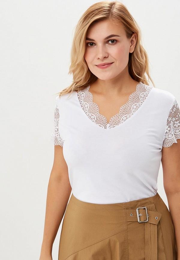 женская футболка averi, белая