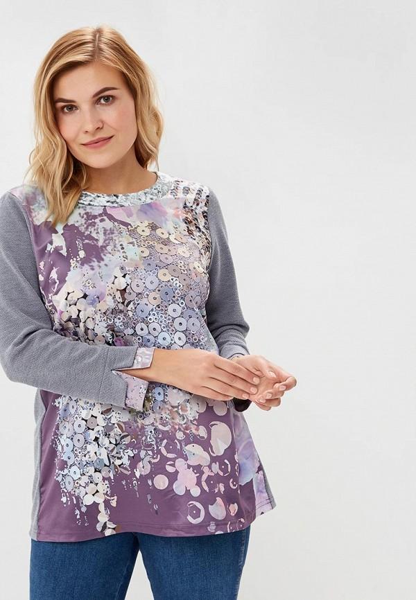женская блузка averi, серая