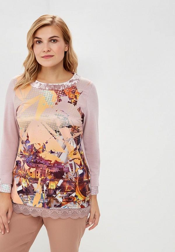 женская блузка averi, розовая