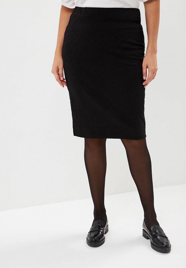 женская прямые юбка averi, черная