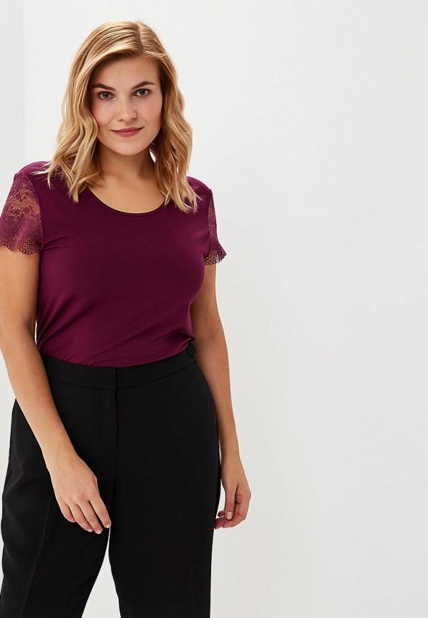 женская футболка averi, фиолетовая