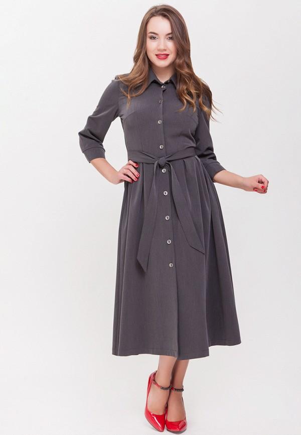 женское повседневные платье xarizmas, серое
