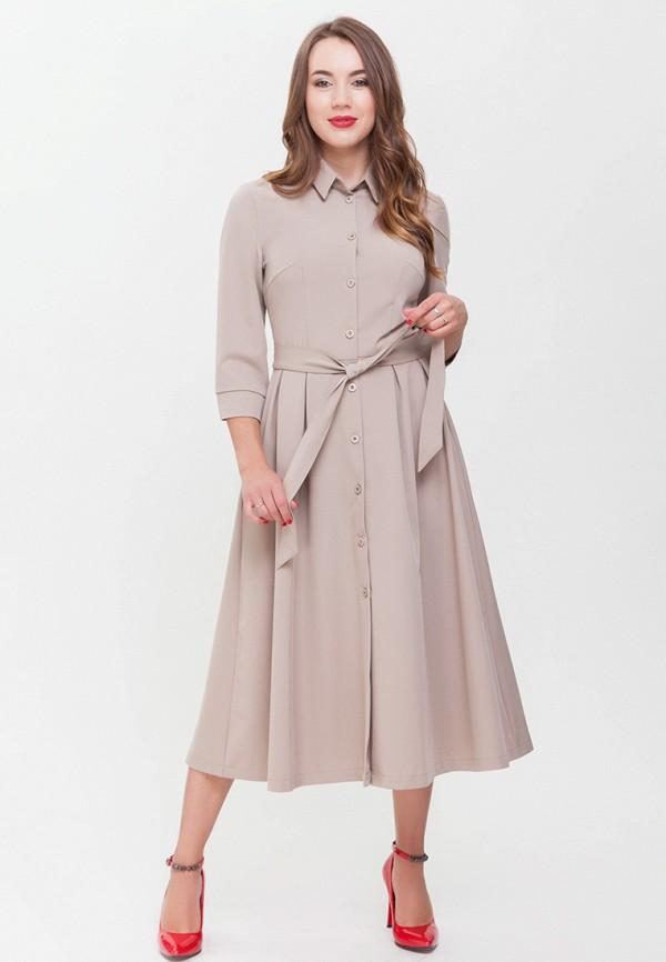 женское повседневные платье xarizmas, бежевое