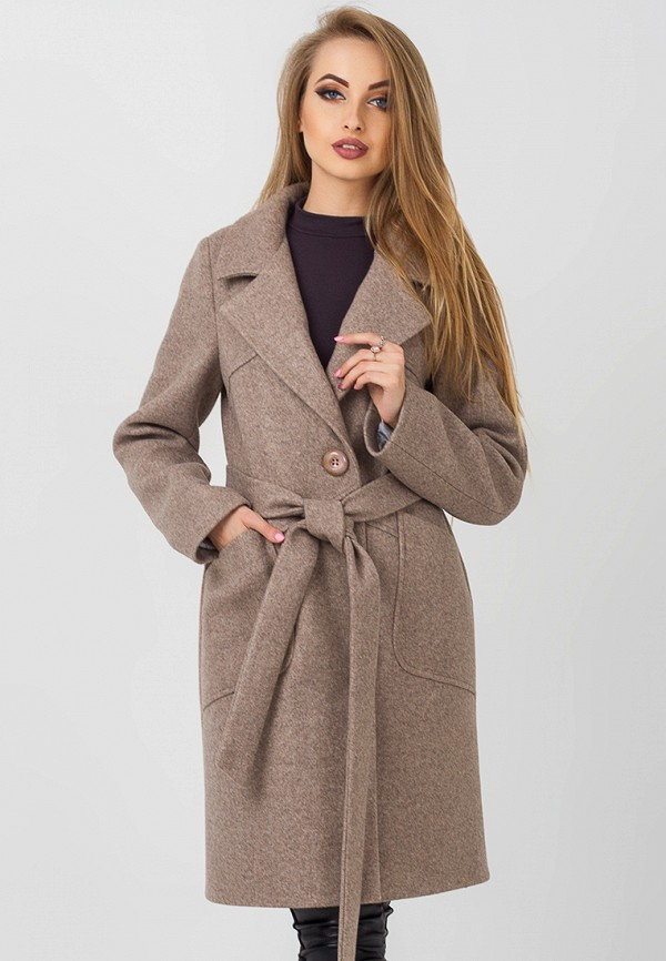 Купить Пальто Leo Pride, mp002xw1gr6f, коричневый, Осень-зима 2018/2019