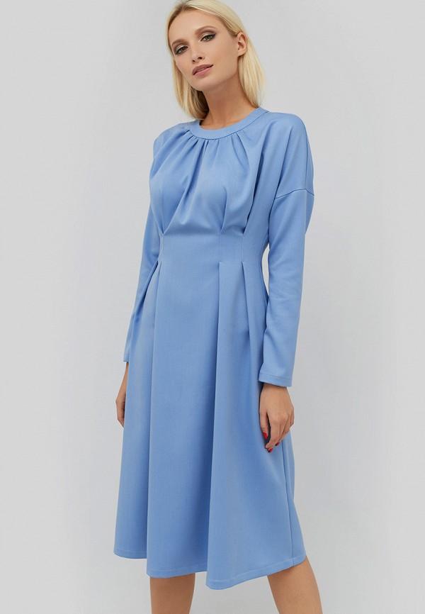 женское повседневные платье cardo, голубое