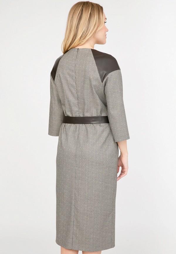 Платье Akimbo, Коричневый