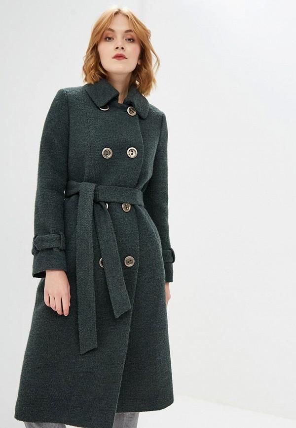 Купить Пальто Azell'Ricca, R7.1, MP002XW1GRH6, зеленый, Осень-зима 2018/2019