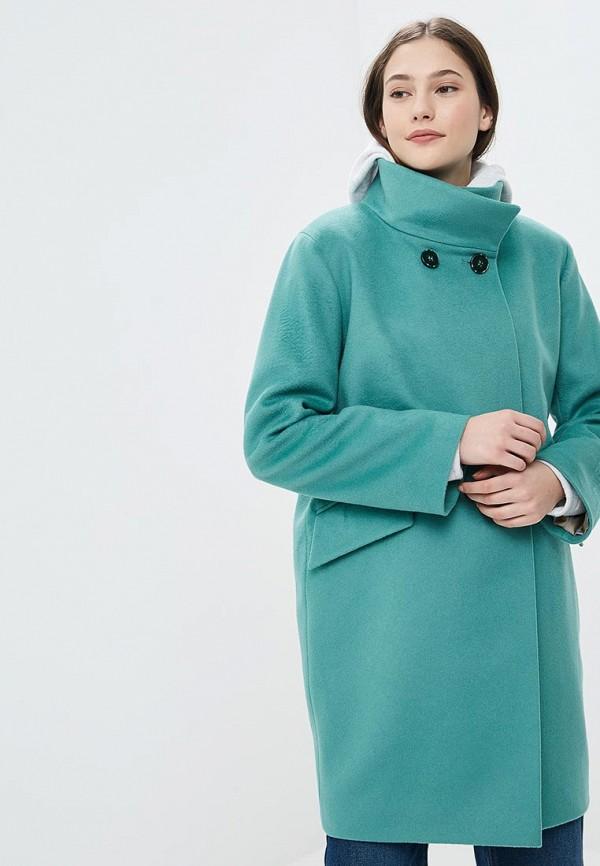 Купить Пальто Azell'Ricca, mp002xw1grhb, зеленый, Осень-зима 2018/2019