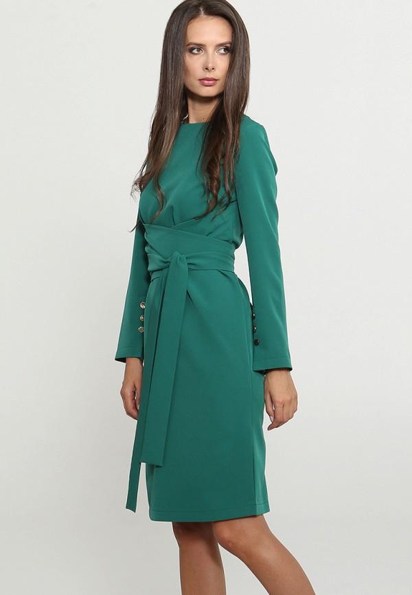 Купить Платье Mari Vera, mp002xw1grhj, зеленый, Осень-зима 2018/2019