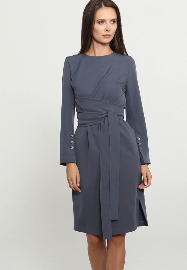 Купить Платье MARI VERA, MP002XW1GRHK, серый, Осень-зима 2018/2019