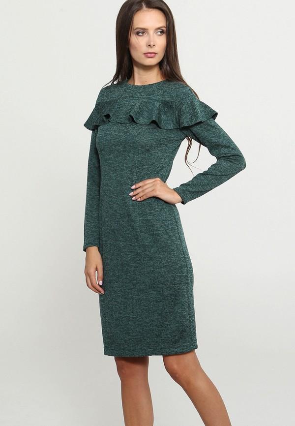 Купить Платье MARI VERA, MP002XW1GRHM, зеленый, Осень-зима 2018/2019