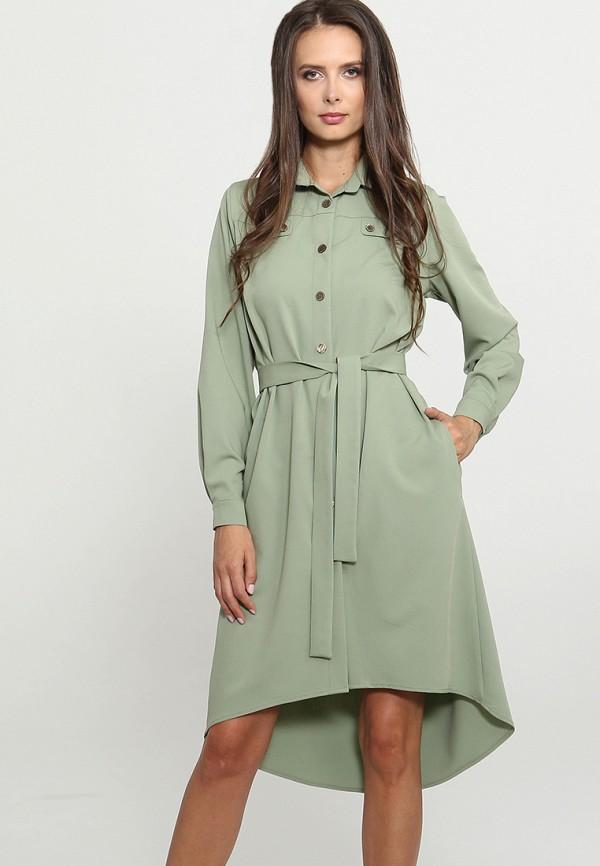 Купить Платье Mari Vera, mp002xw1grhp, зеленый, Осень-зима 2018/2019
