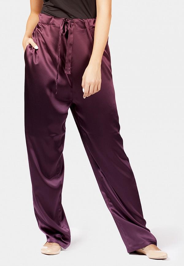 женские повседневные брюки shakerbay, бордовые