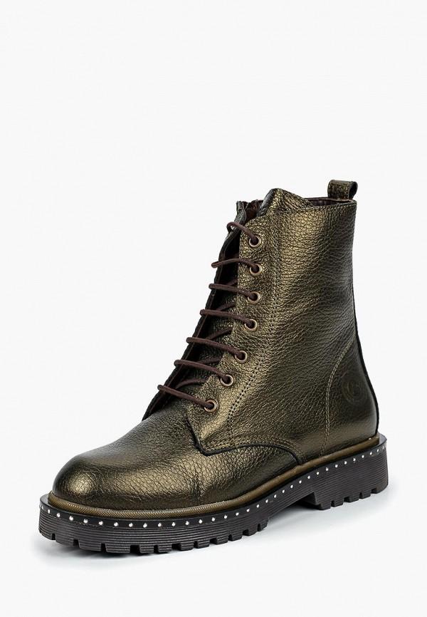 женские ботинки airbox, золотые