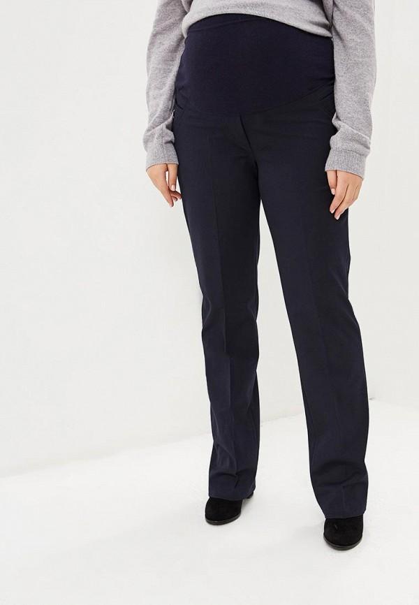 Фото - Женские брюки 9Месяцев 9Дней синего цвета