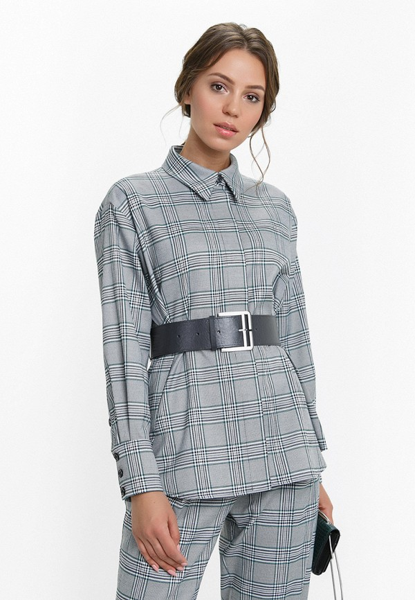 женская блузка audrey right, серая