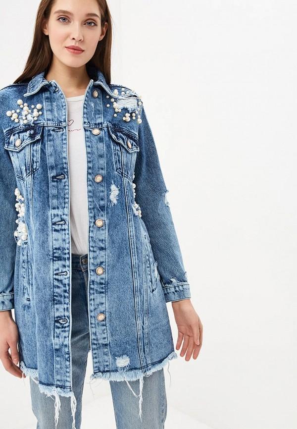 Куртка джинсовая Whitney Whitney MP002XW1GRUS