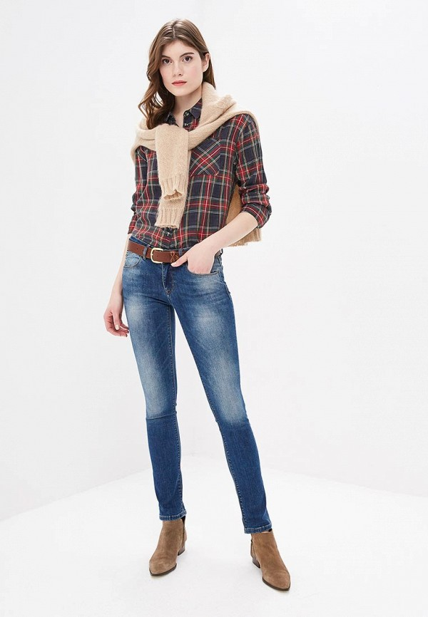 Фото 2 - Женские джинсы Whitney синего цвета